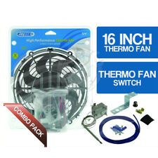 16 Inch High Performance Jaylec Thermo Fan Kit inc. Davies Craig thermo switch