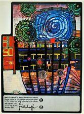 """Friedensreich Hundertwasser Offset-Litho Print, """"Escape Of The Indoor Sky"""""""