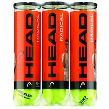 1 x BRAND NEW HEAD RADICAL TENNIS BALL TRIPLE PACK (1 dozen balls) 2018