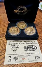 1998 Highland Mint 6 Time NBAChampions Chicago Bulls Pippen/Jordan 84 of 1,998