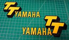 1978 2pc Yamaha TT500 tank vintage decals stickers graphics kit