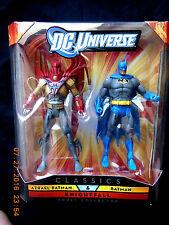MATTEL DC UNIVERSE DCUC AZRAEL BATMAN / BATMAN ACTION FIGURE 2 PACK!