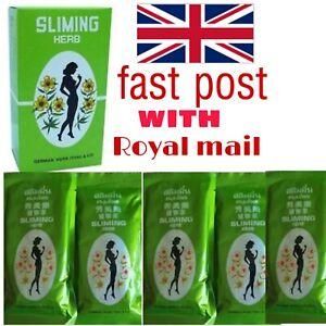GERMAN SLIMING HERB TEA/ Slimming Weight Loss Tea 10-100 tea Bags UK SELLER