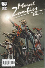 Marvel Zombies 4 (Four)  #3 1980's Variant Cover  Greg Land
