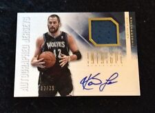 Kevin Love 12-13 Panini Intrigue Jersey AUTO 2/25 Sp Wow
