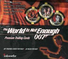James Bond The World Is Not Enough Movie Card Box