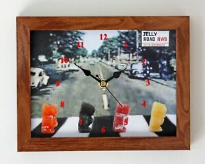 Stock Clearance, Jelly Road wall clock