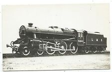 LONDON, MIDLAND & SCOTTISH RAILWAY - LMS Steam Loco no. 5241 Real Photo Postcard