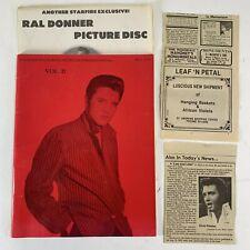 Vintage Collection Elvis Presley Records & Memorabilia For Sale Catalog Book