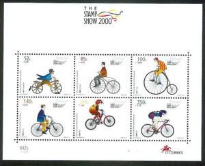 Portugal 2000 - 100 Years International Cycling Union S/S MNH