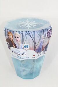 """NEW"" Disney Frozen II Surprise Puzzle in Gem-Shaped Collectors Case 48 Pieces"