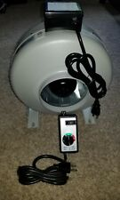 """6"""" Inline Fan with Adjustable Speed Controller"""