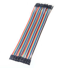 40PCS Dupont wire 30cm Cables Line Jumper 1p-1p pin Connector male to female