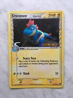 Pokemon card Croconaw (Delta Species) - 27/101 - Uncommon Reverse Holo Ex Dragon
