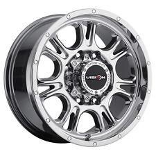"""20"""" Vision 399 Fury Chrome Wheel 20x9 5x150 12mm Toyota Tundra Sequoia 5 Lug Rim"""