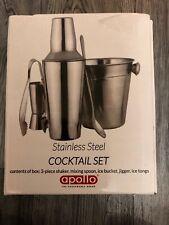Apollo Set da cocktail in acciaio inox