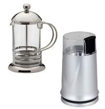 Électrique 150 W Grain de Café meuleuse Avec Acier Inoxydable 800 ml Verre CAFETIERE
