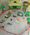Animal Planet Safari Animal Playset Jungle Toys R Us Hut Truck People pre-owned