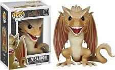 "Game of Thrones - Dragon Viserion 6"" Pop! Vinyl Figure NEW In Box"