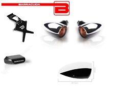 Portatarga + Luce Targa Led + Frecce FONZIE per Ducati Diavel 2014 - 2018