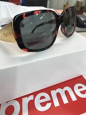 Supreme Royce Sunglasses Red Tortoise *BRAND NEW* Item # 44943 SS17