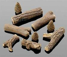 9 piezas Conjunto madera Cerámica para su Bio-Ethanol Estufa o Chimenea gel
