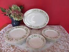 More details for lovely vintage royal doulton bone china clairmont  dinner set service