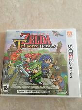 Legend of Zelda: Tri Force Heroes (Nintendo 3DS, 2015) 3DS NEW