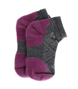 Smartwool 251681 Womens Run Light Elite Low Cut Socks Meadow Mauve Size Medium