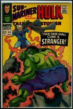 Marvel Comics Tales To Astonish #89 Sub-Mariner And The Hulk Vg/Fn 5.0