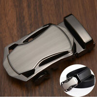Mens Alloy Rachet Belt Buckle Automatic Buckle For Mens Leather Belt-Waistband~/