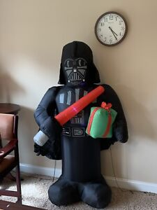 Gemmy Star Wars 6 ft Darth Vader Christmas Airblown Inflatable Self-inflates