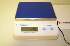 Citizen CT2100 Compact Portable Scale, Lab Balance 2100x0.1 g, Counting, NEW