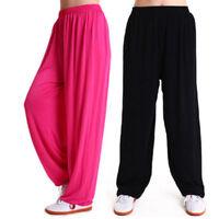 Unisex Chinese Wing Chun Kung Fu Pants Martial Art Tai Chi Yoga Uniform Trousers