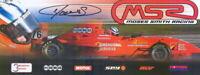 2004 Moses Smith signed HASA Star Mazda postcard