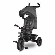 Haari Grey Dreirad Kinderdreirad Kinder Lenkstange Fahrrad Baby Kinderwagen