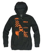 New FOX RACING Mens KTM  KONSTRUCT Hoody Size Medium Motocross Hoodie Zip Jacket
