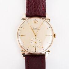 Doxa Herrenuhr Armbanduhr 14k Gold 36mm