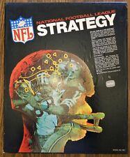Vintage NFL National Football League Strategy Board Game #100 Tudor Games (1972)