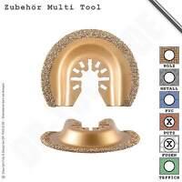 Hartmetallsägeblatt Segment 65mm Fugen für Multifunktionswerkzeug Multi Tool