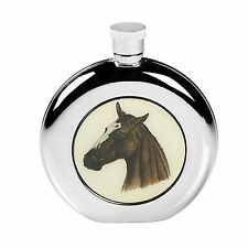 HORSE PONY HIP FLASK STAINLESS STEEL HUNTING COUNTRY SPORTS GIFT BOXED SCREW TOP