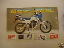 advertising Pubblicità 1987 APRILIA TUAREG 350 WIND