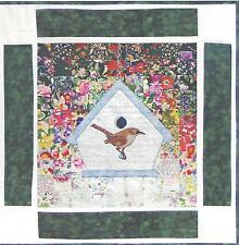 New listing Wren Watercolor Quilt kit by Whims Watercolor Quilts