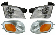 1997 - 2005 CHEVY VENTURE HEADLIGHT / CORNER LAMP PAIR LEFT & RIGHT COMBO SET