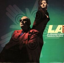 """LA MIX we shouldn't hold hands in the dark/free my mind AM 755 1991 7"""" PS EX/EX"""