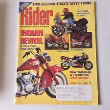 Rider Magazine Ducati M900 & Ducati E900 January 1994 052617nonrh2