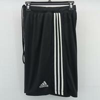 Adidas Mens Performance Climalite Triple Stripe Gym Athletic Shorts H16