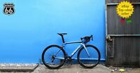 "SARTO ""LAMPO"" Carbon Road Bike Frame (FRAME set only ), size: L / BLUE SKY"