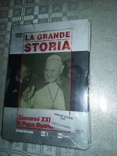 2 COFANETTI SIGILLATI+2 DVD LA GRANDE STORIA GIOVANNI XXIII/MISSIONE MUSSOLINI