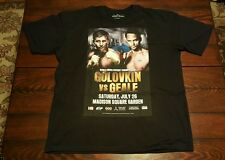 Gennady GGG Golovkin vs Daniel Geale Official MSG NYC Boxing Fight T-Shirt XL